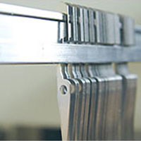 Flat Steel Heddles